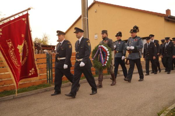 Čestná stráž praporu Paleček Jiří a Vozár Jan