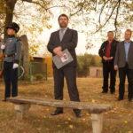 Mgr.Michal Sejk přednesl hymnu Legionářů